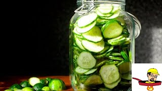 Lazy Man's Pickle Slices