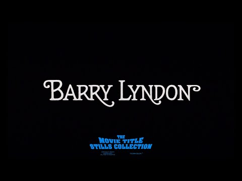Barry Lyndon (1975) Title Sequence