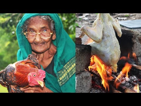 Rooster Chicken-Country Chicken Recipe-By Mastanamma-Natu Kodi Recipe