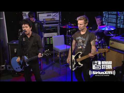 """Green Day """"Holiday"""" Live on the Howard Stern Show"""