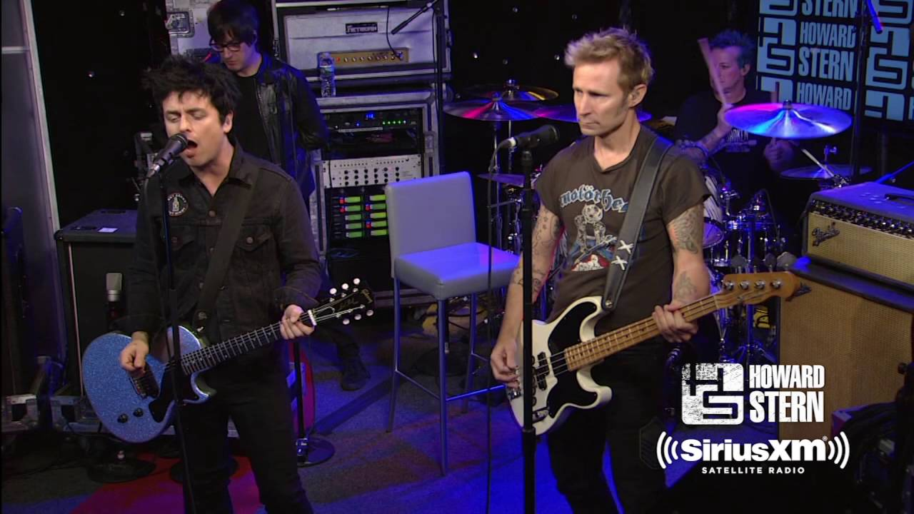 green day holiday live on the howard stern show youtube. Black Bedroom Furniture Sets. Home Design Ideas