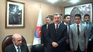 MHP Genel Başkanı Devlet Bahçeli'den Karabük ve Ovacık'a Teşekkür ve Tebrik Ziyareti