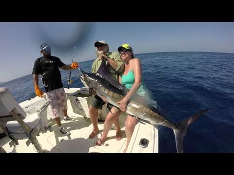 Deep Sea Fishing In Cabo San Lucas Mexico!