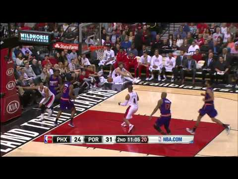 Phoenix Suns vs Portland Trail Blazers | March 30, 2015 | NBA 2014-15 Season