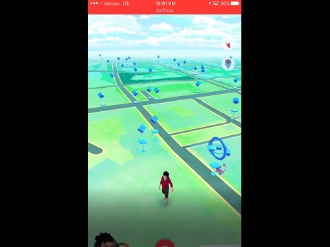 Pokémon Go! Playing at one of my favorite places RTC!!!