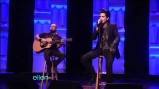 Скачать The Ellen DeGeneres Show Adam Lambert Whataya Want From Me Acoustic February 10th 2011