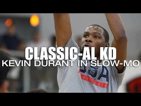 Kevin Durant in Slow-Mo with Classical Music