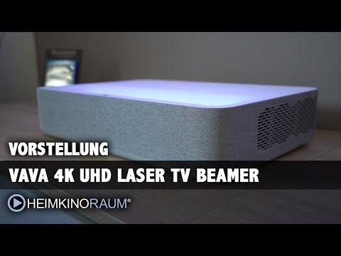 Vorstellung VAVA 4K Laser TV mit 3D - Großes Bild und edler Sound im Designer-Gehäuse