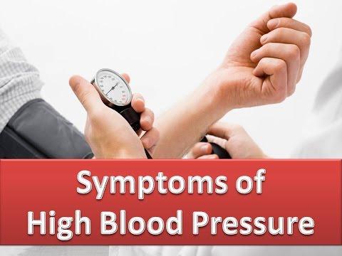 Symptoms of High Blood Pressure - Signs of Hypertension