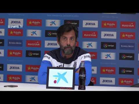 """Quique Sánchez Flores: """"Queremos colocar al equipo en la posición que merece"""""""