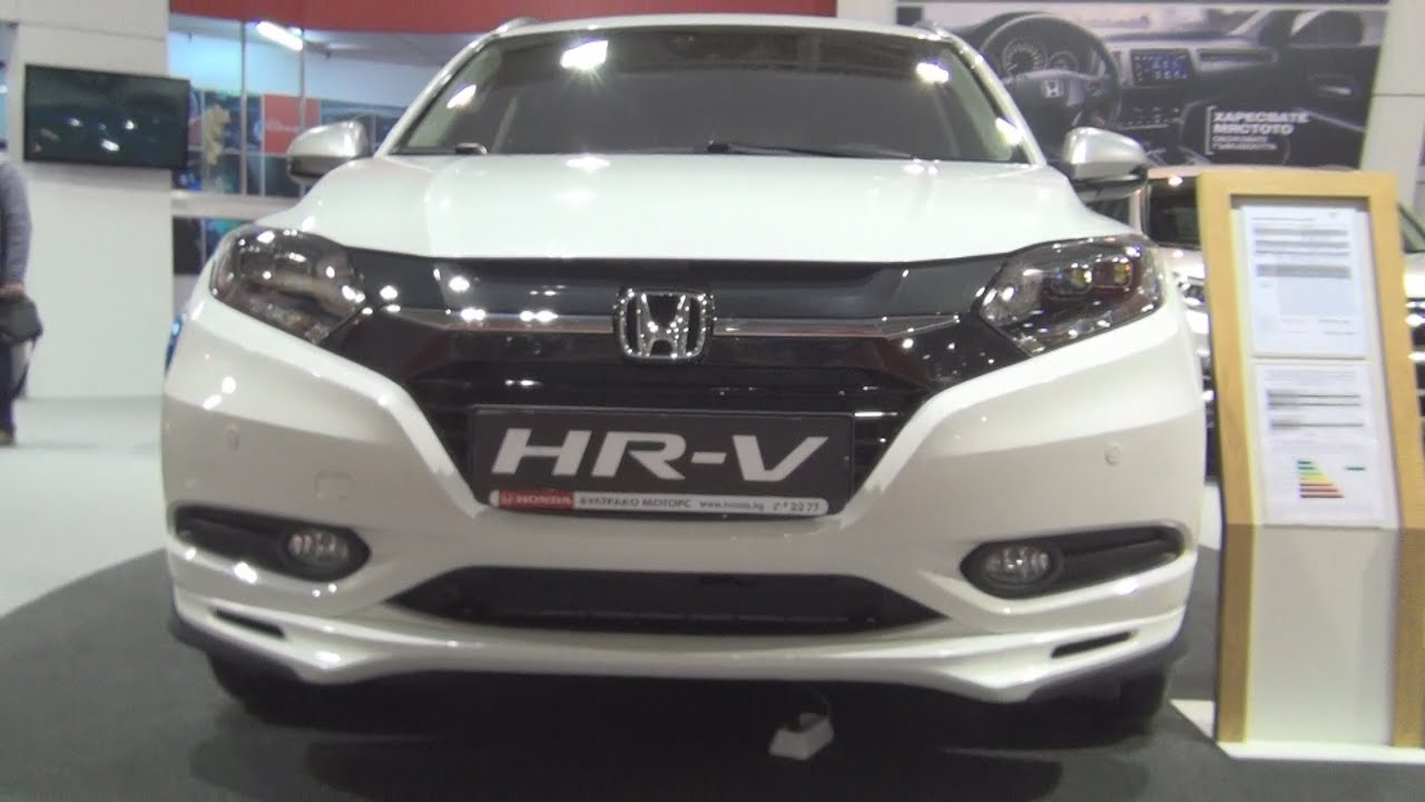 honda hr v 1 5 executive 2016 exterior and interior in 3d youtube. Black Bedroom Furniture Sets. Home Design Ideas