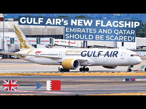 TRIPREPORT | Gulf Air (ECONOMY) | Boeing 787-9 | London Heat