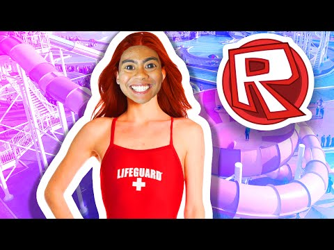 WORLD'S LARGEST WATERPARK!   Roblox
