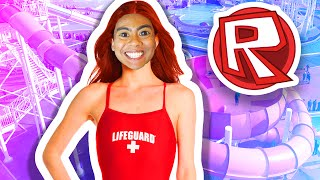 WORLD'S LARGEST WATERPARK! | Roblox