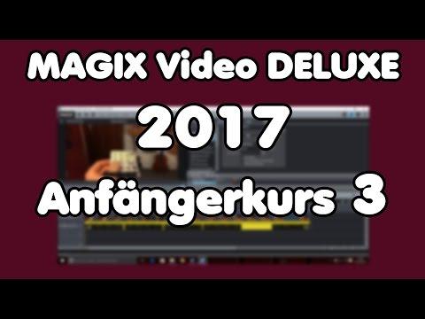 MAGIX Video Deluxe 2017 pro Tutorial -Arbeiten mit dem Titeleditor Titel erstellen (Anfängerkurs 3)