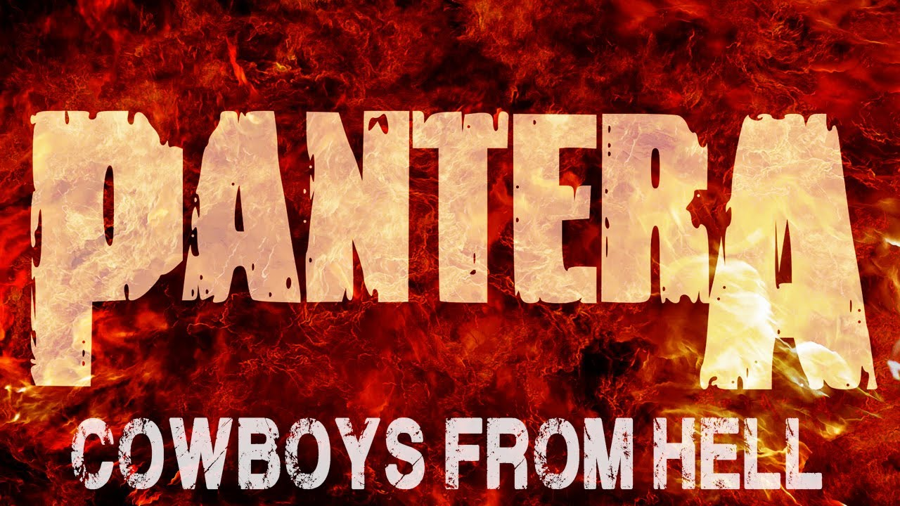 Pantera Logo Pantera - Cowboys From...