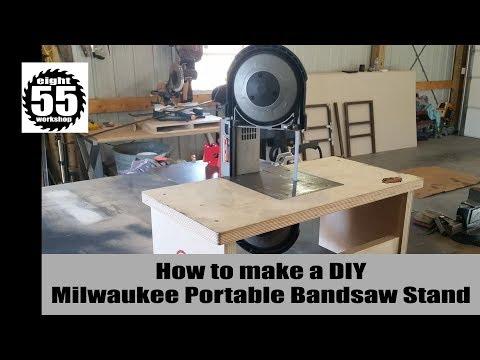 DIY Portable Bandsaw Table