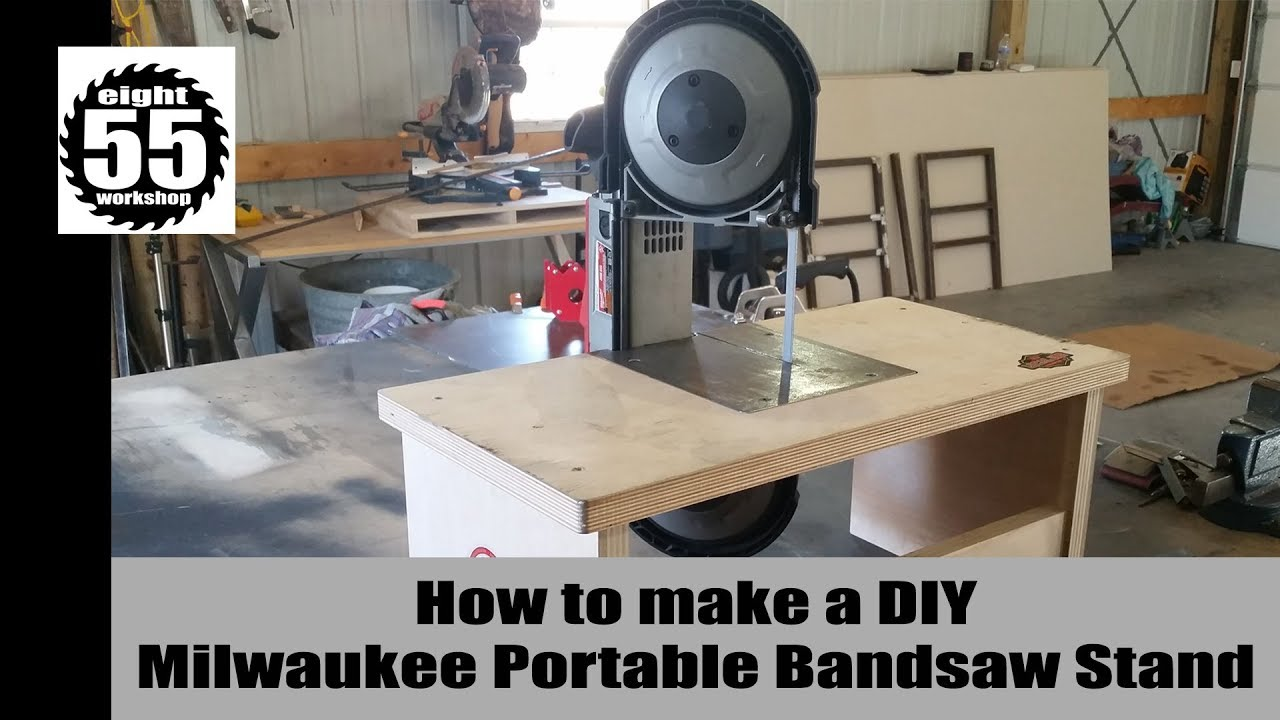 Diy Portable Bandsaw Table Youtube