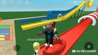 water and rides / roblox with AON