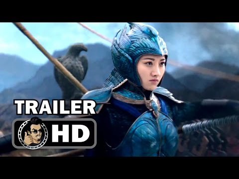 THE GREAT WALL Trailer #2 (2017) Matt Damon, Zhang Yimou Movie HD