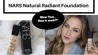 NARS Natural Radiant Longwear Foundation | Wear Test | DOES IT WORK????