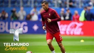 El próximo reto de Cristiano tiene que ver con Pelé | Copa Confederaciones Rusia 2017 | Telemundo