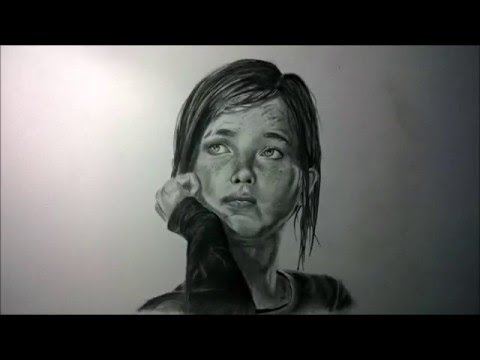 Drawing Ellie The Last Of Us Youtube