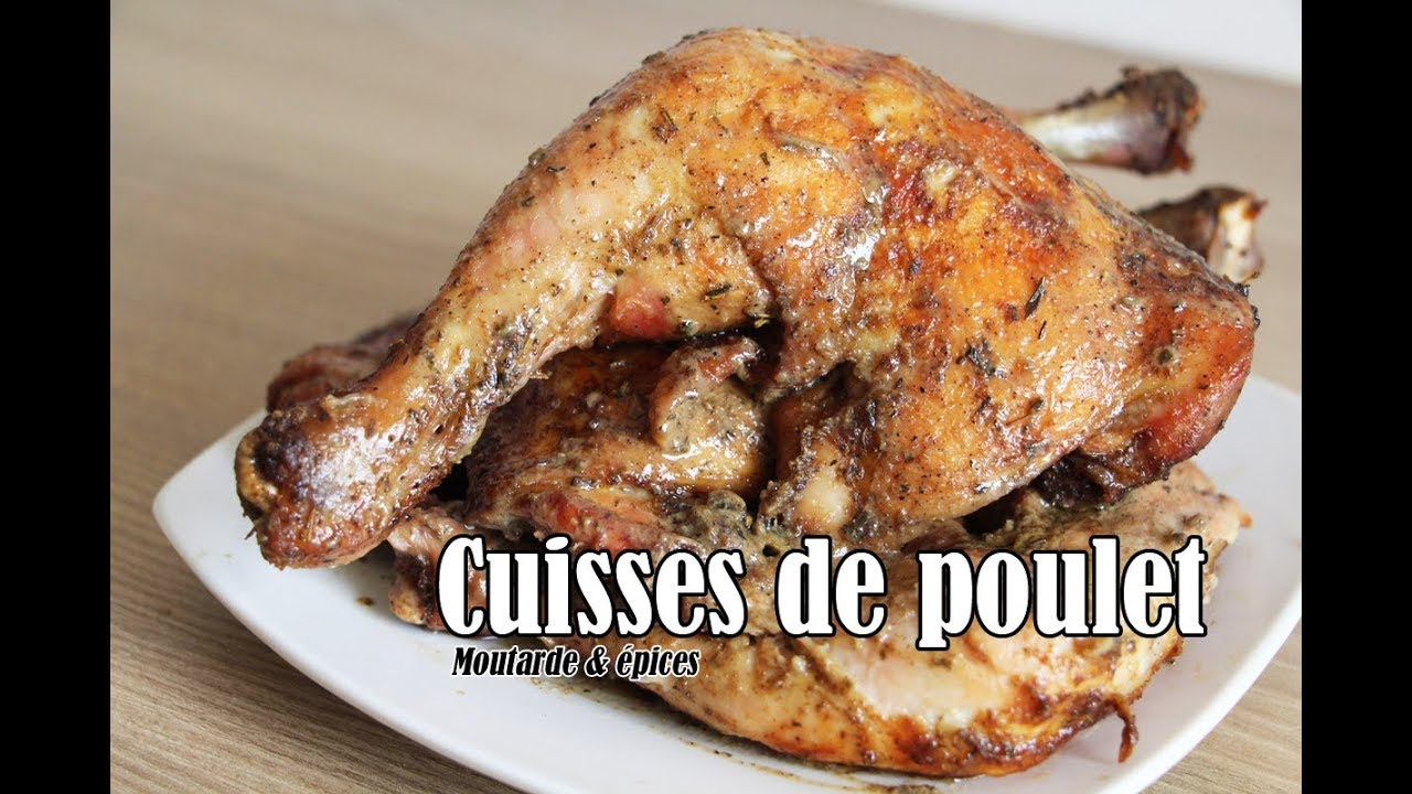 #LGDK : Cuisses de poulet, moutarde et épices #1
