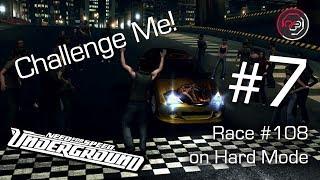 Challenge Me! #7 - [NFSU] Race #108 on Hard Mode