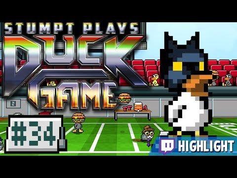 Duck Game - #34 - The Dark Duck [Twitch Vod]