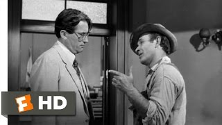 To Kill a Mockingbird (1/10) Movie CLIP - What Kind of Man Are You? (1962) HD