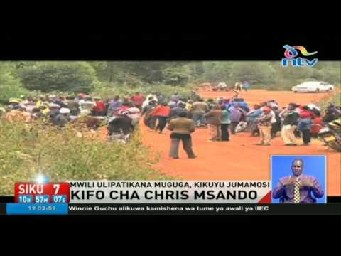 Mwili wa Chris Msando ulipatikana Muguga, Kikuyu Jumamosi