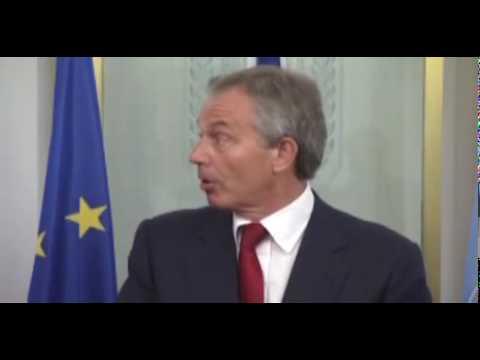 PM Netanyahu and Quartet Envoy Tony Blair