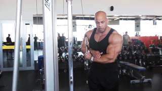 Смотреть видео упражнения на трицепсы видео