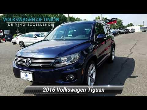 Certified 2016 Volkswagen Tiguan R-Line, Union, NJ GW617432