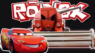 ROBLOX | Cars The Movie | Save Lightning McQueen