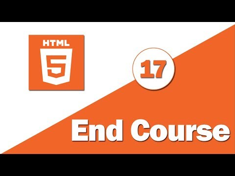 17 - ( HTML 5 Tutorial ) Form Attribute - End Course