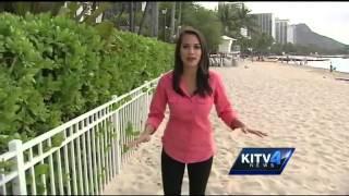 Sand erosion worsens off Royal Hawaiian Hotel