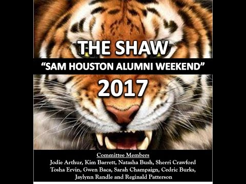 The SHAW 2017 - SAM HOUSTON ALUMNI WEEKEND