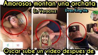 Oscar revela la orgifiestă silvia desnudă?los ămorosos en Veracruz   Enamorandonos