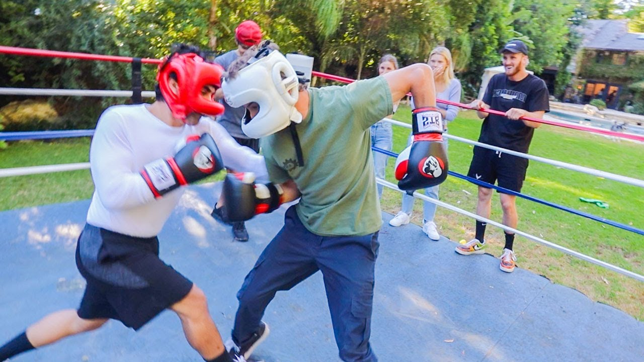 Download Boxing A Famous Youtuber In Front Of Logan!