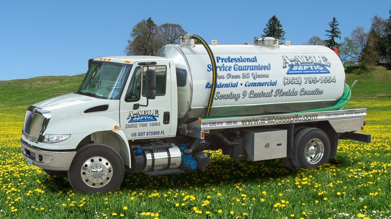 A-Able Septic Sewer Service Inc