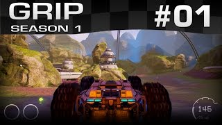 Let's Play GRIP [01] [Racing Simulator] [Season 1] [Let's Play Gameplay Deutsch German HD] thumbnail
