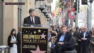 SUMNER REDSTONE HONORED WITH HOLLYWOOD WALK OF FAME STAR
