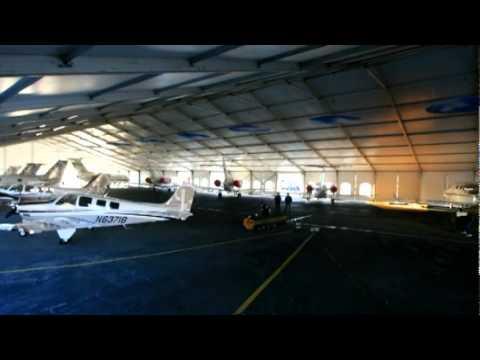Hawker Beechcraft Mission Tent Possible Video - NBAA 2010