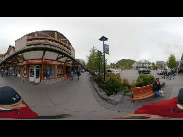 Banff Downtown - Video 360
