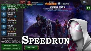 Spider-Gwen ROL Full Speedrun (Beta) | Marvel Contest of Champions