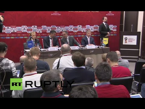 LIVE: FIFA 2018 World Cup Organising Committee briefs press in Moscow