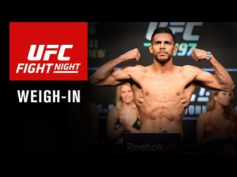 Fight Night Salt Lake City: Official Weigh-in