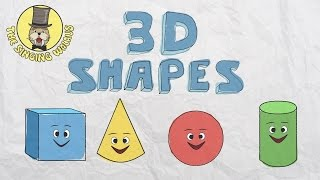 Download 3D Shapes Song | Shapes for kids | The Singing Walrus